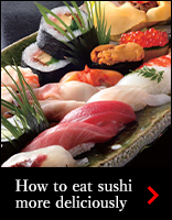 How to eat sushi more deliciously