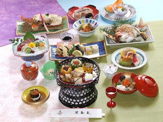 寿司の次郎長 コース料理