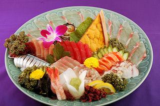 寿司の次郎長 刺身盛り合わせ